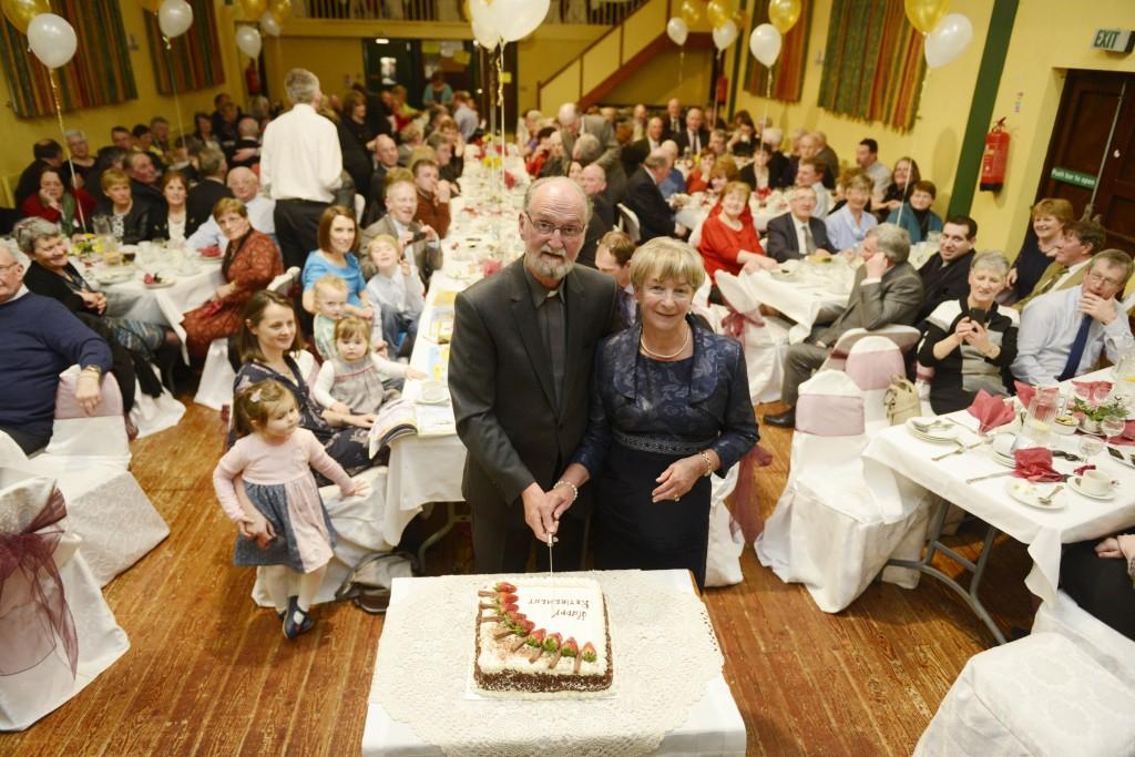 6 Arch & Irene Cutting Cake