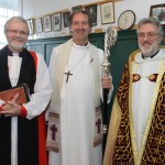 The Very Revd Gerald Field, Dean of Cashel hosts the Rt Revd Michael Burrows and The Rt Revd Robert Paterson Bishop of Sodor & Man On Sunday 1st February in Cashel