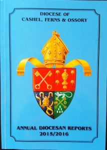 Cover of Diocesan report 2016