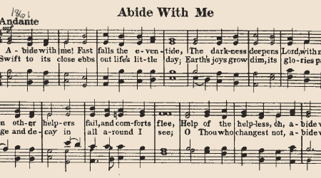Abide With Me – COMPOSER WAS CURATE IN COUNTY WEXFORD