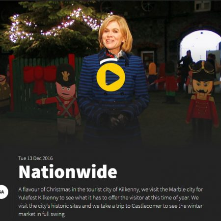 RTE's Nationwide features St Canice's Tree Festival