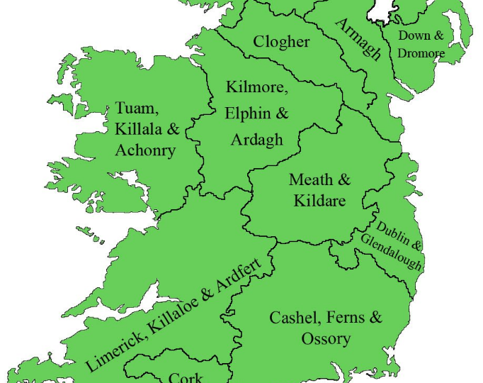 Map of Diocese