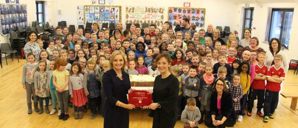 Carlow National School Wins Music Rich School Award