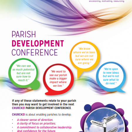 Parish Development Conference on 25 March 2017 in Dublin