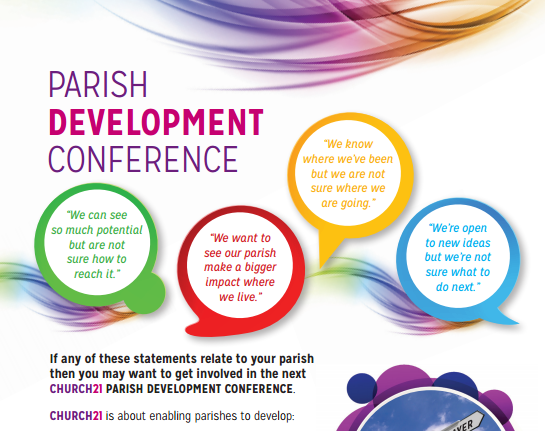 Parish Development Conference on 25 March 2017 in Dublin