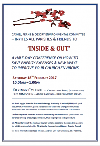 Inside & Out Conference 18th February - Reduce Parish Energy Costs