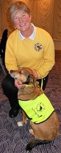 Sarah of Irish Therapy Dogs with Lexi (2)