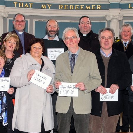 Christmas Fast Cheques Presented in Wexford