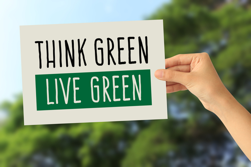 Think Green Live Green image