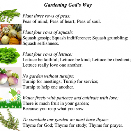 Gardening God's Way