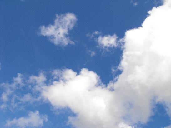 Summer sky image