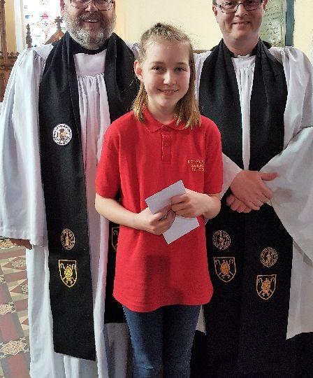 Bishop's Medal winner primary R