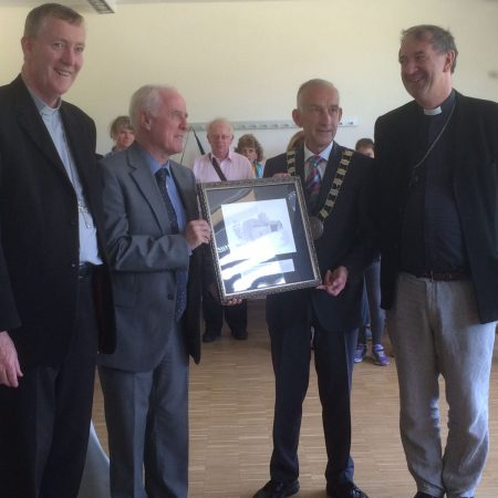 Leighlin Pilgrimage to Echternach – presentation to Irish Ambassador to Luxembourg