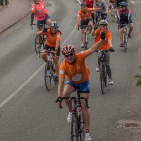 Diocesan Reader participates in Cycle Against Suicide – Carlow