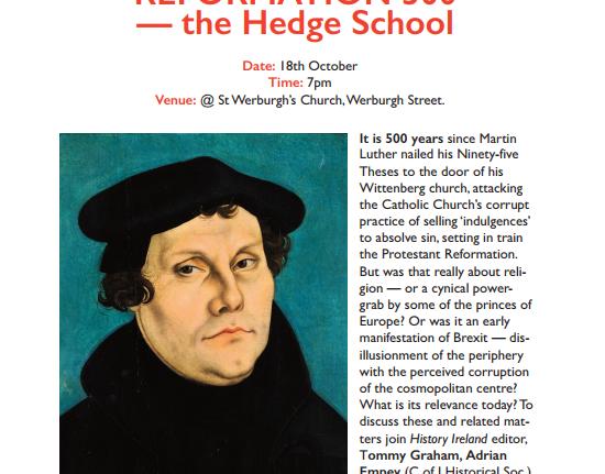 Hedge School Debate – History Ireland