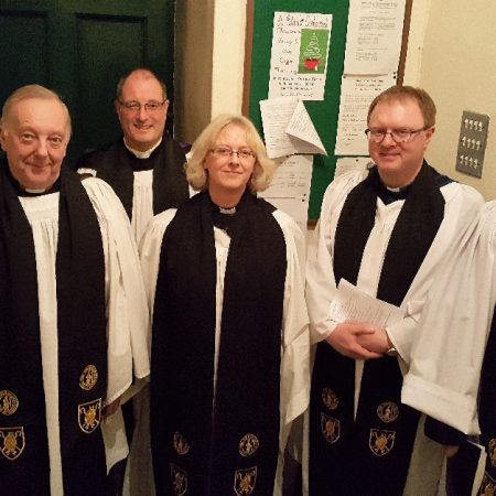 Installation of Dignitaries at Advent Choral Evensong in Ferns Cathedral