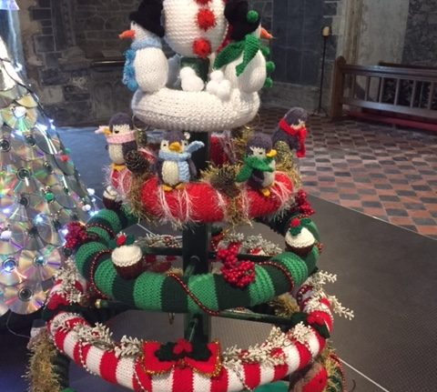 TREE FESTIVAL IN ST CANICE'S CATHEDRAL, KILKENNY