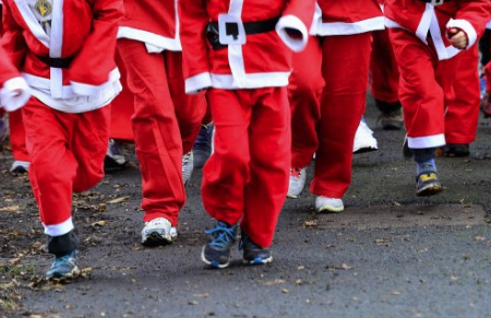 Santa Walk/Run in Camolin Park