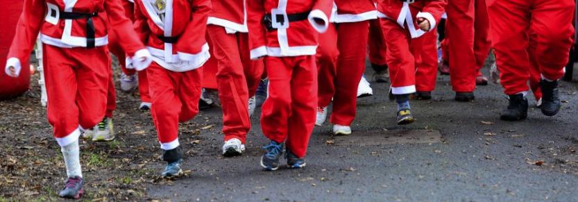 Santa Walk/Run in Camolin Park