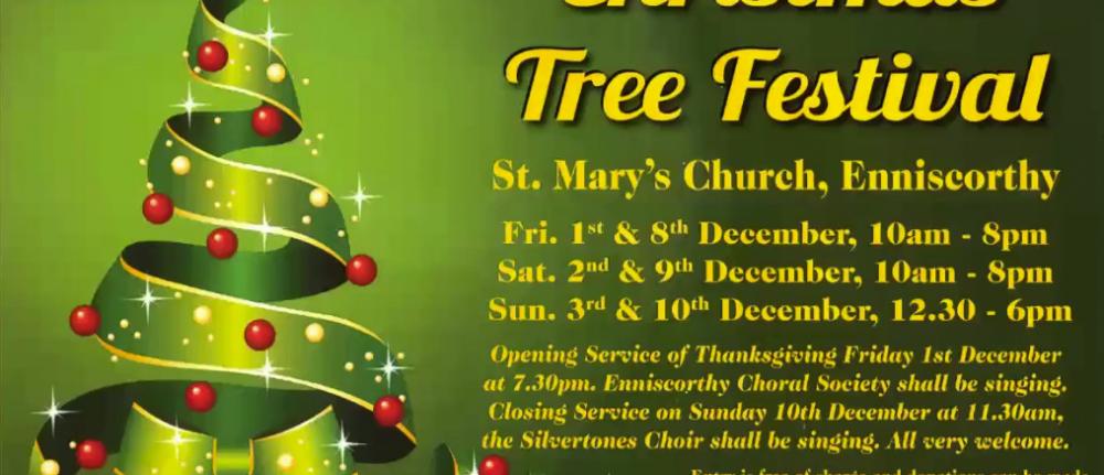 ENNISCORTHY TREE FESTIVAL IN ST MARY'S CHURCH