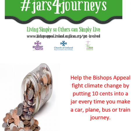Jars for Journeys – please send to Bishops' Appeal