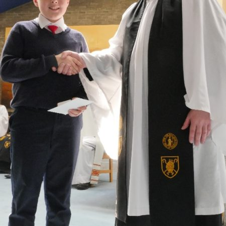 Junior Bishop's Medal Winner – 2018