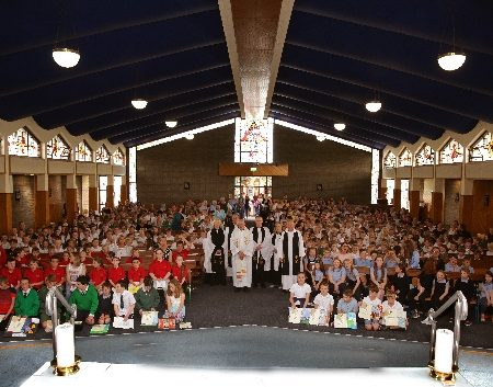 PACKED CHURCHES FOR CHILDREN'S CHORAL FESTIVALS