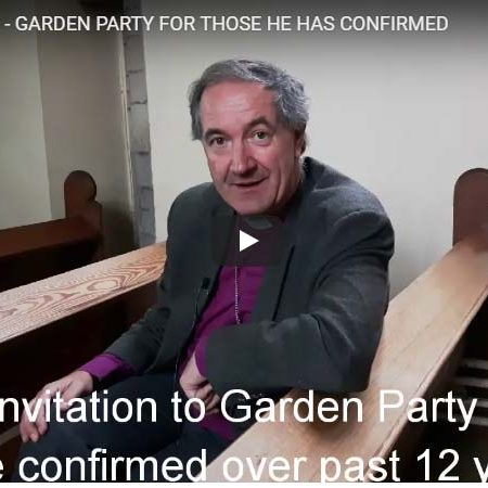Bishop Invites Those He Has Confirmed to Garden Party Get-Together