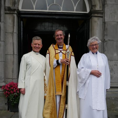 The Reverend Trevor Sargent ordained priest in Christ Church Cathedral Waterford