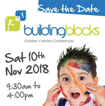 BUILDING BLOCKS CHILDREN'S MINISTRY CONFERENCE ON 10TH NOVEMBER