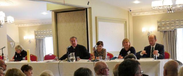 Diocesan Synod 1 - synod begins