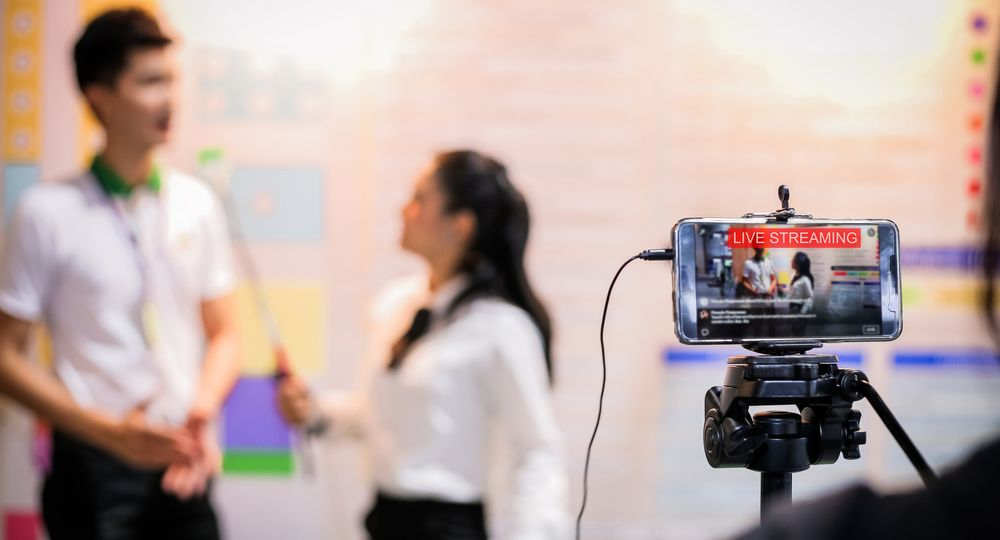 Live streaming - Shutterstock