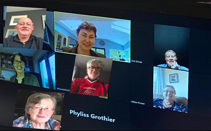 Diocesan Review Commission meets on Zoom