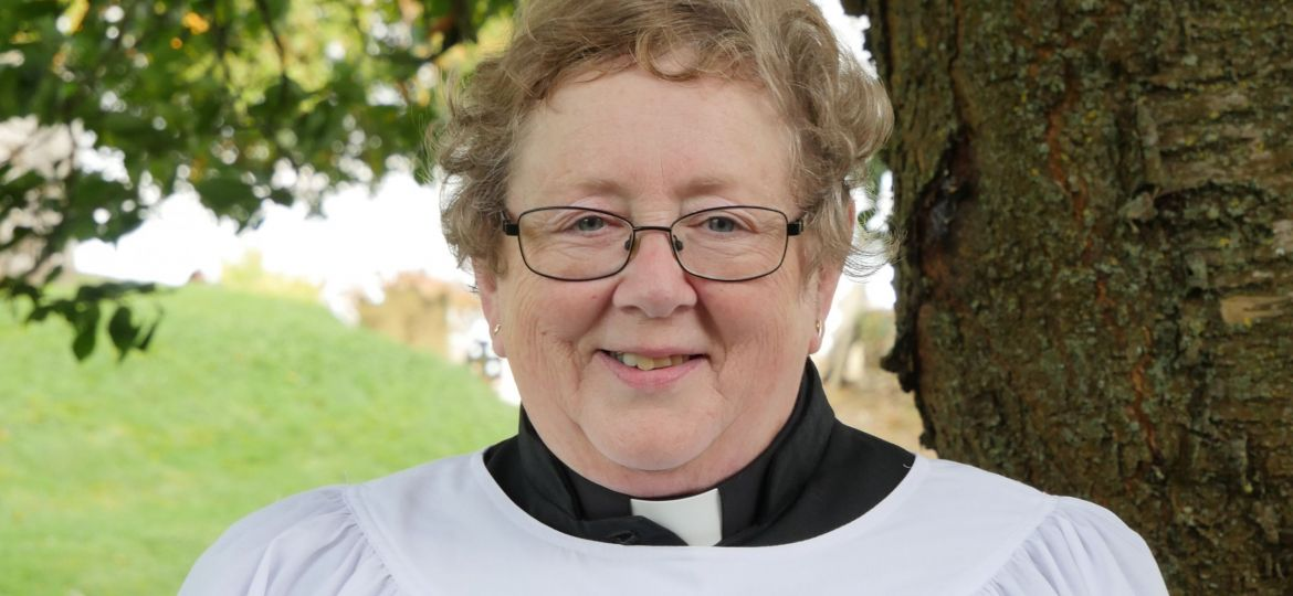 Patricia Coleman before her ordination