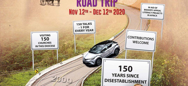 FINAL poster - 150 Disestablishment Tour - Bishop Burrows