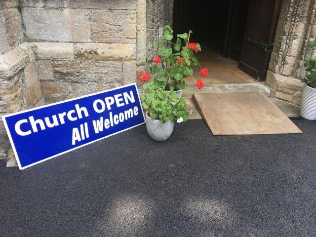 Church open - Shutterstock