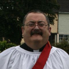 The Reverend Mike O'Meara after his ordination as deacon - Ordained Local Ministry